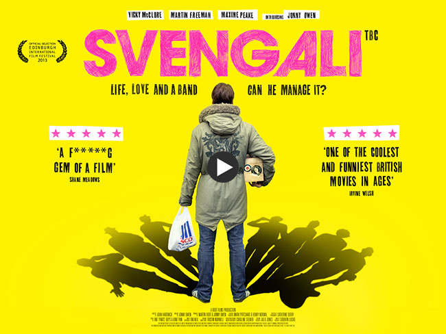 svengali film directed by john hardwick